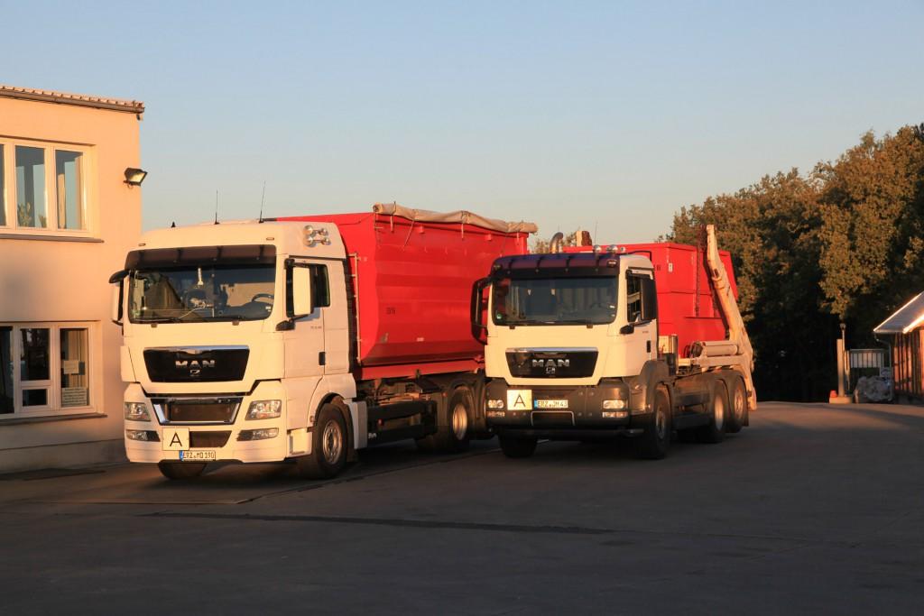 Unsere zwei wichtigsten Fahrzeuge unserer Flotte