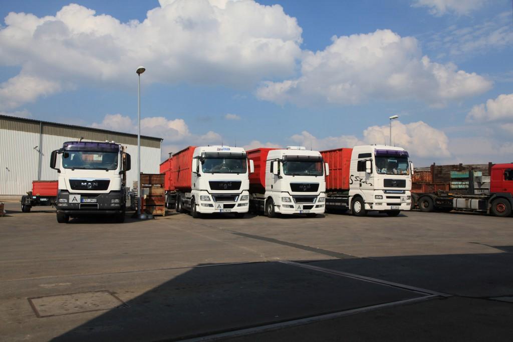 Die Fahrzeuge unserer Flotte